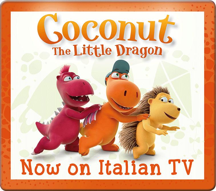 Coconut finally airing on Italian Rai Yoyo TV - Team Entertainment